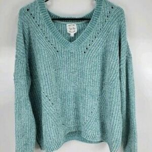 NWT HIPPIE ROSE CHENILLE SWEATER SIZE XL